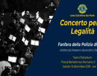 Concerto per la Legalità con la Fanfara della Polizia di Stato