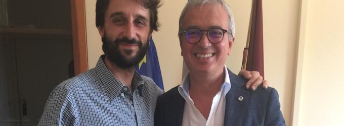 Il programma del Lions Club Roma San Paolo presentato al Presidente dell'VIII Municipio Amedeo Ciaccheri