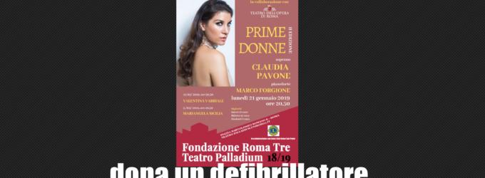 Il Lions Club Roma San Paolo dona un defibrillatore al Teatro Palladium di Roma