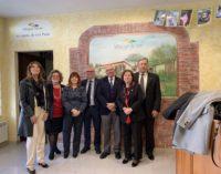 Visita del Governatore Leda Puppa al Lions Club Roma San Paolo presso la SOSPE