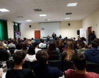 Progetto 'Educhiamo alla Legalità' con Giuseppe Antoci all'Agrario G.Garibaldi di Roma